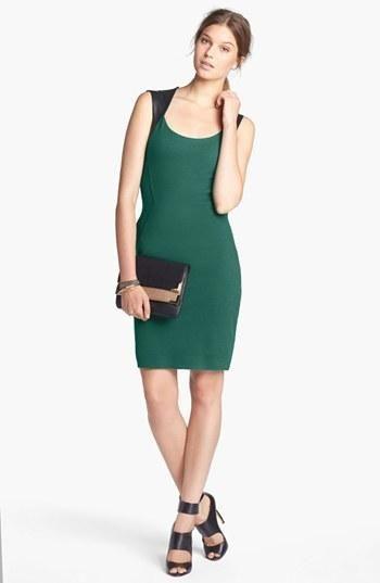 Beautiful Emerald Sheath Dress