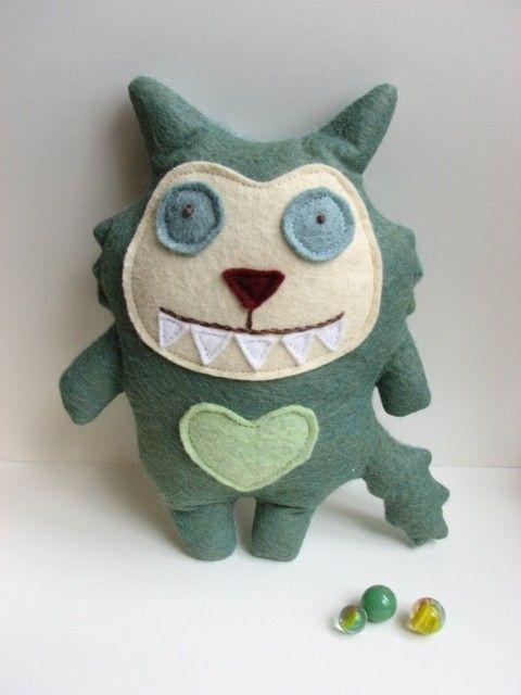 Milton the Monster. $18.00, via Etsy.