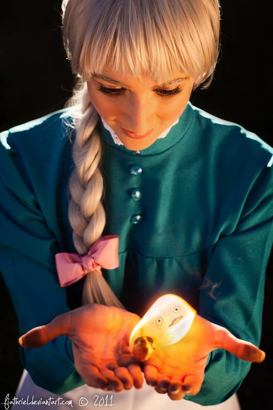 Howl's - Sophie and Calcifer by *fiathriel on deviantART; Costumes & Cosplay