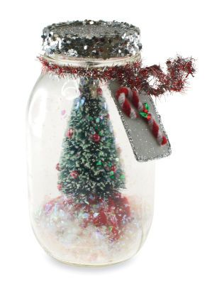 Michael's tree in a jar decoration