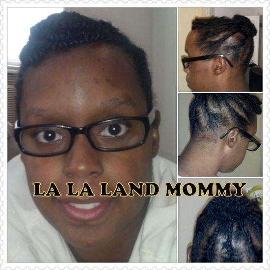 Braided hair style (my hair)
