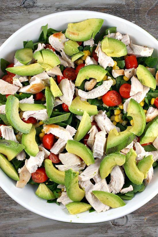Chicken Spinach Salad 5