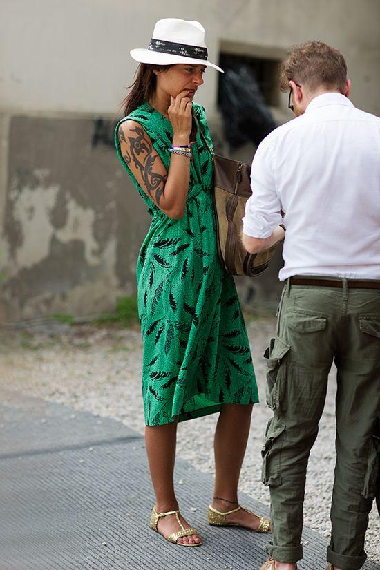 Green Dress Italy