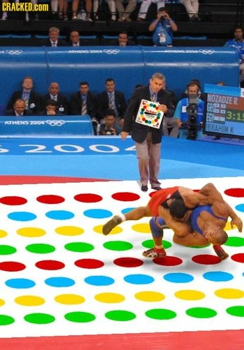 The Olympics...how funny would this be?