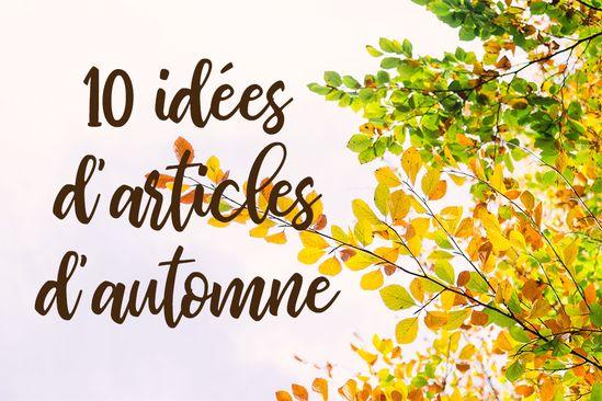 Découvrez 10 idées d