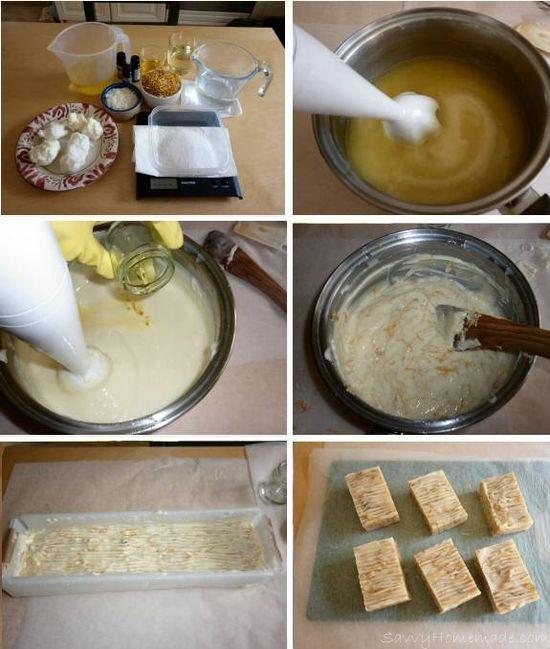 Floral Handmade Soap Recipe