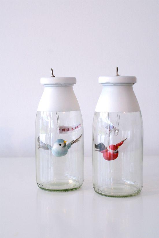 Petit à Petit - Night light bird. $33 etsy genius