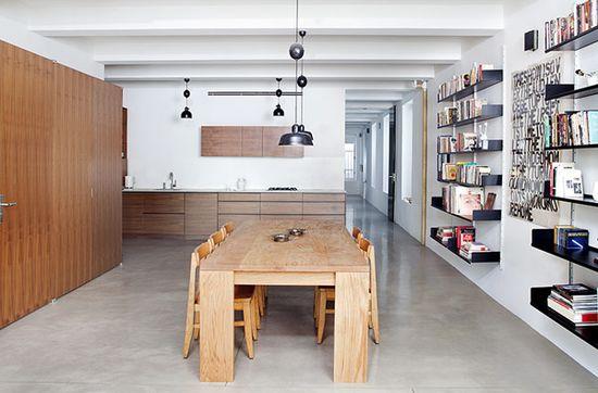 Workshop for Construction modern loft interiors