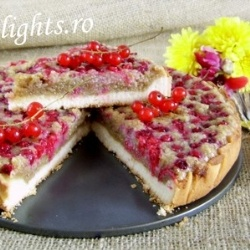 Red currants tart