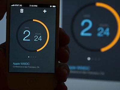 Apple WWDC Countdown by Kerem Suer