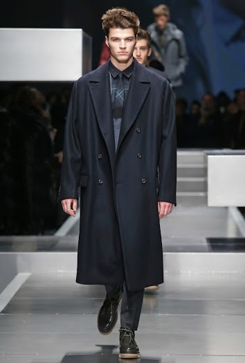 Long overcoats are capes for the 21st century; move like silk in em'
