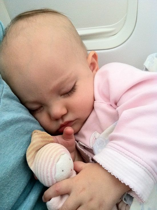 20 tips for traveling with a baby or toddler.  One of the best lists I've seen.