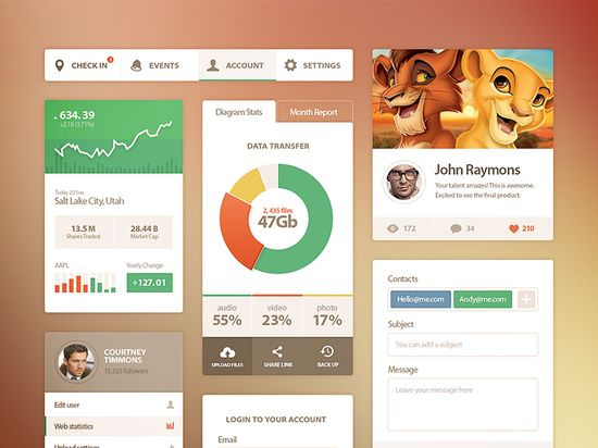 Ui Kit #ui #design