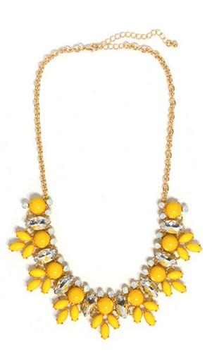 #necklace #jewelry #Yellow