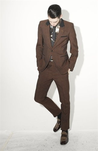 Printed Slim Cut Marc Jacobs Fall 2013 #Suits