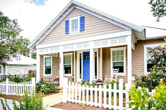 Exteriors | beach cottage, coastal home design