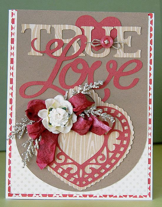 True Love card, for that special someone! #Cricut