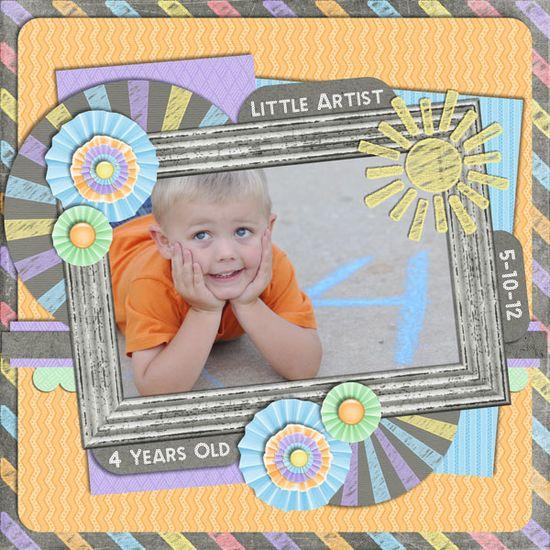 Little Artist - Scrapbook.com