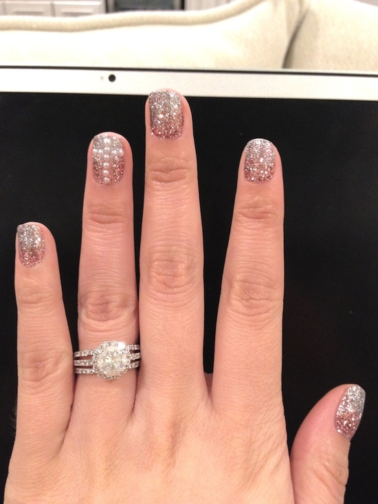 Nails that Sparkle #nails #beauty