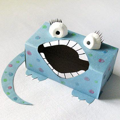 Sandwich Box Monster