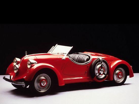 Vintage Car-Red