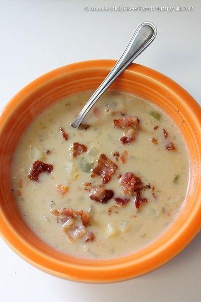 The Pioneer Woman's Potato Soup