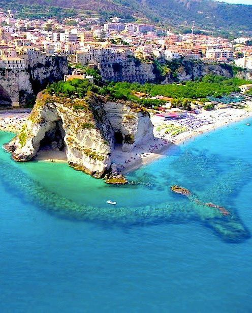 """Calabria, Italy.  Calabria is a region in southern Italy, south of Naples, located at the """"toe"""" of the Italian Peninsula."""