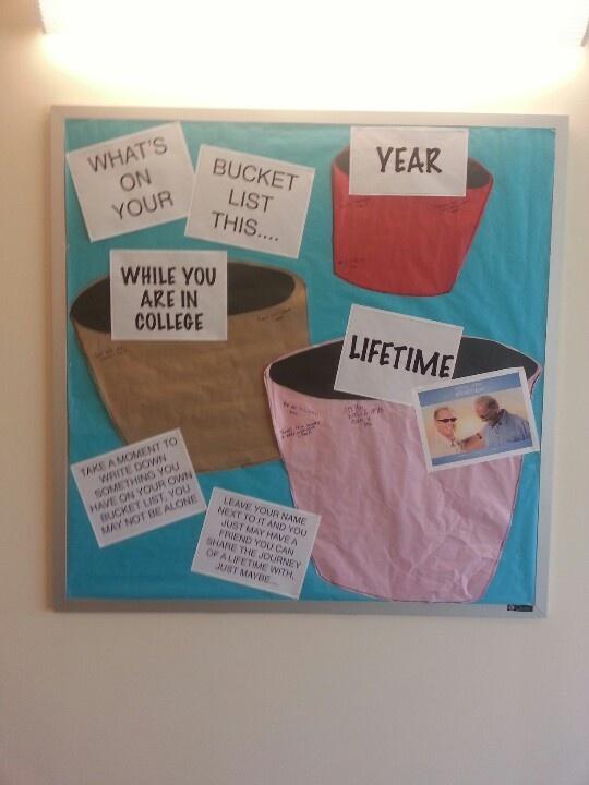 RA bulletin board idea.