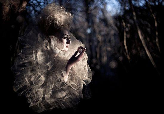 Wonderland : Moondial by Kirsty Mitchell, via Flickr