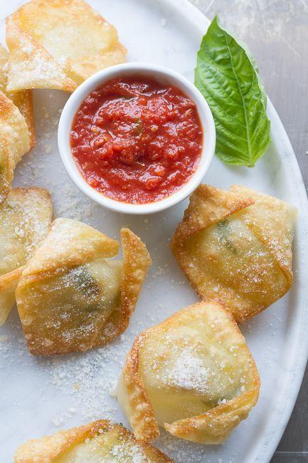 Simple Fresh Mozzarella and Basil Bites