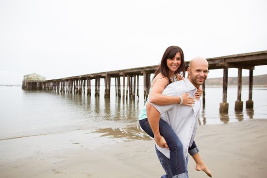 Fun, Rustic Engagement Shoot #engagement #wedding #photography #beach