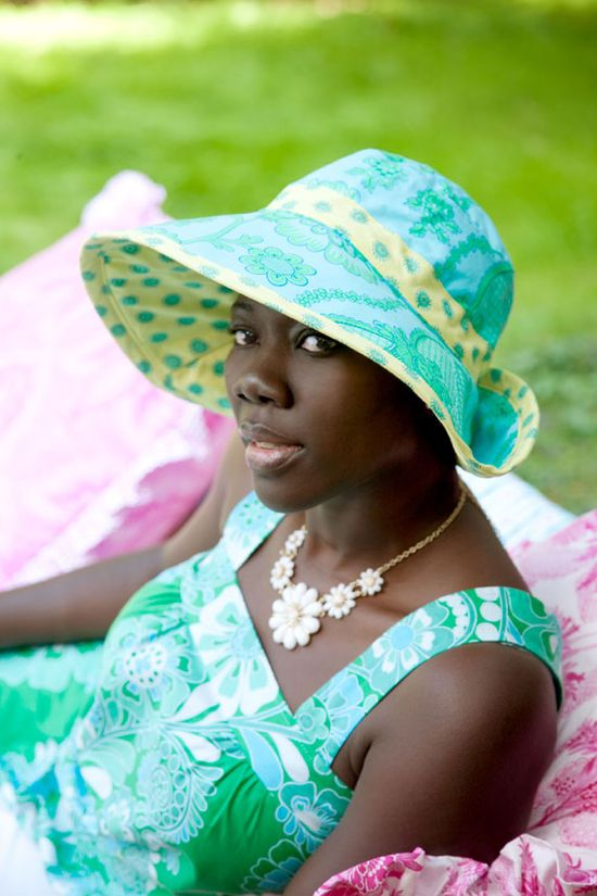 sunhat pattern and tutorial by Jennifer Paganelli. From Etsy blog.