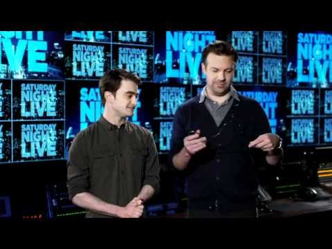SNL Promo - Daniel Radcliffe Harry Potter Saturday Night Live Commercial funny