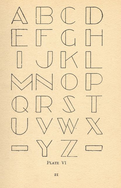 modern lettering 4 by pilllpat (agence eureka), via Flickr