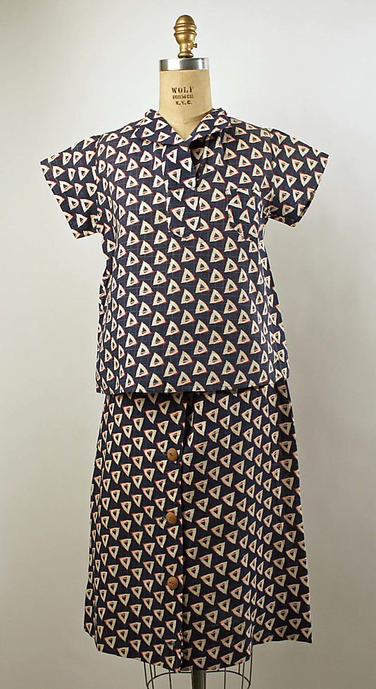Playsuit  Date: late 1930s