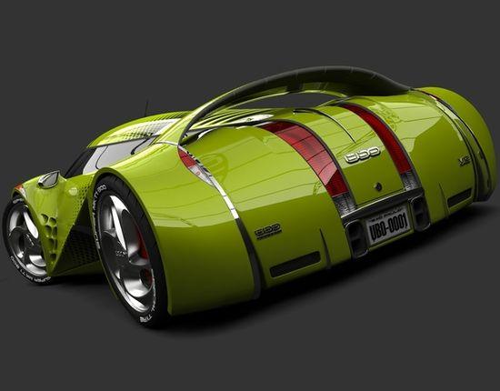 UBO Concept Car 2012 by Urbano Rodriguez, via Behance