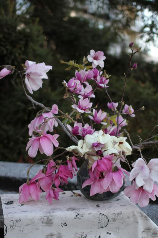 an imperfect flower arrangement