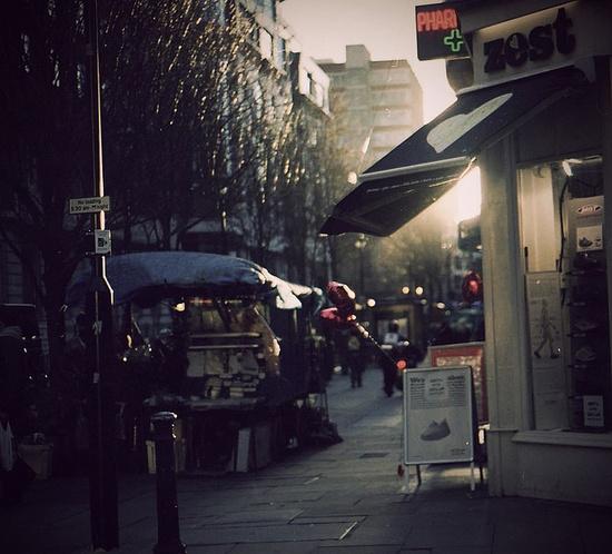 Soho in London, UK / photo by Yiannis Baboulias