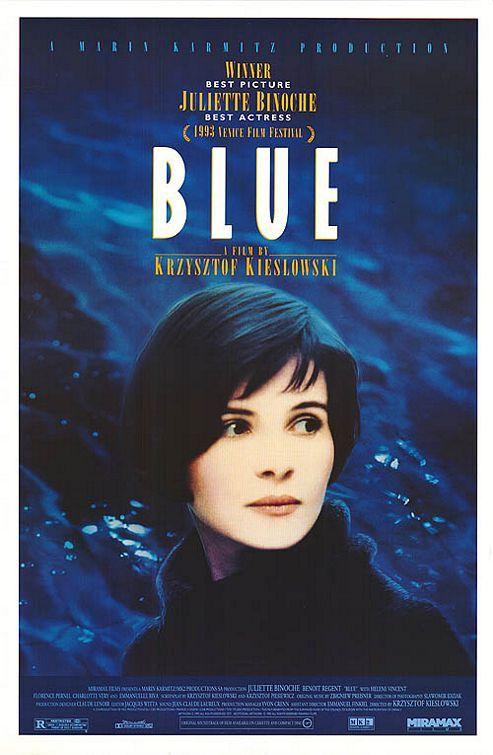 BLUE by Krzysztof Kieslowski
