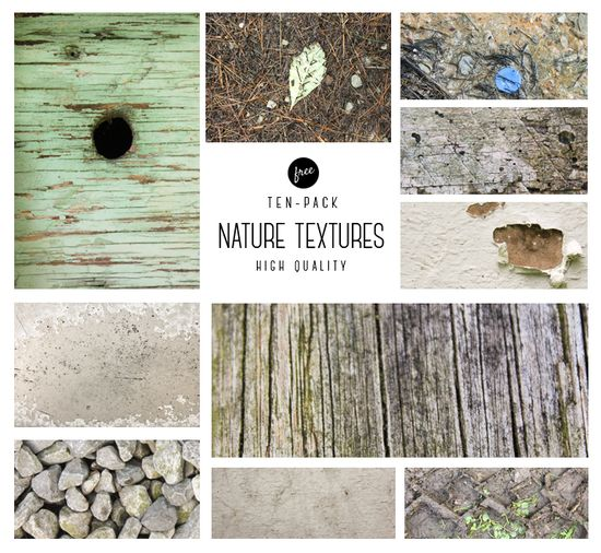 Free 10-pack Nature Textures