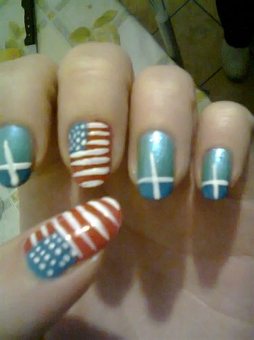 american nails - Nail Art Gallery by NAILS Magazine