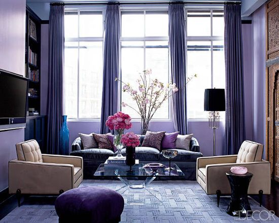 Photos of Celebrity Homes -- Celebrity Living Rooms--Jessica Stam's Manhattan Apartment-- Luxury Living Rooms - ELLE DECOR