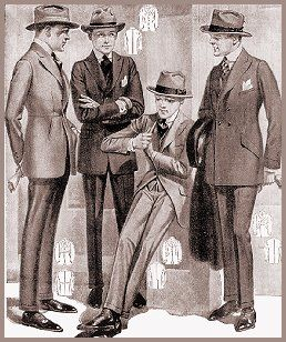 1920's mens fashion