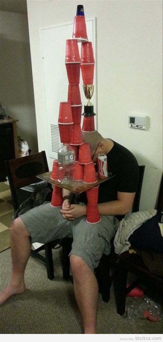 Too Drunk: Silo Cup Man
