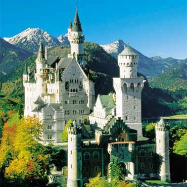 Neuschwanstein Castle, Germany    You should see this castle from called 'Marien castle'. I was a great view when I visited last year.