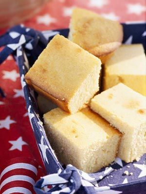This cornbread recipe serves up to 24 and is perfect to serve at a Fourth of July backyard barbecue!