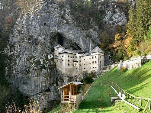 Predjama Castle in Slovakia