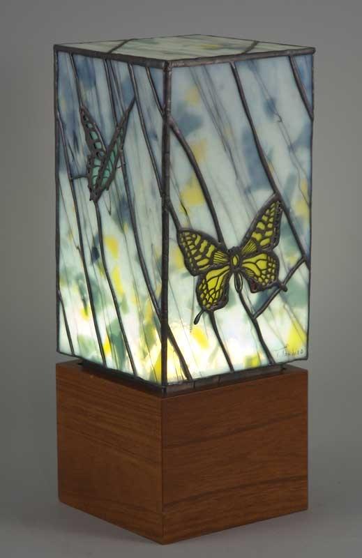 Glass lamp by Tashir