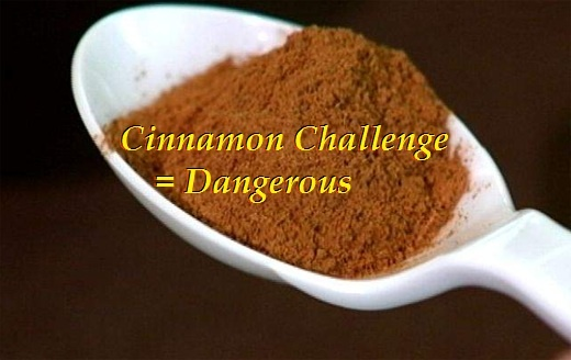 Complete the Cinnamon Challenge (: