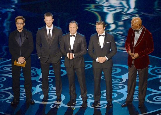 First of all... these men would be announcing the winner in my category...